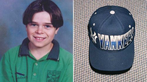 Gerard Ross and the hat he was wearing when he disappeared in 1997. (Images: WA Police)