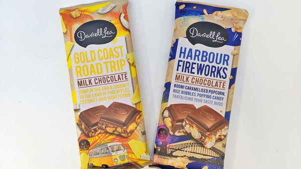 Darrell Lea's new controversial chocolate has landed