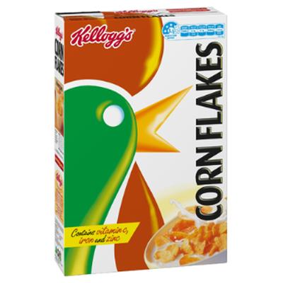Kellogg's Corn Flakes - 7.2g sugars per 100g