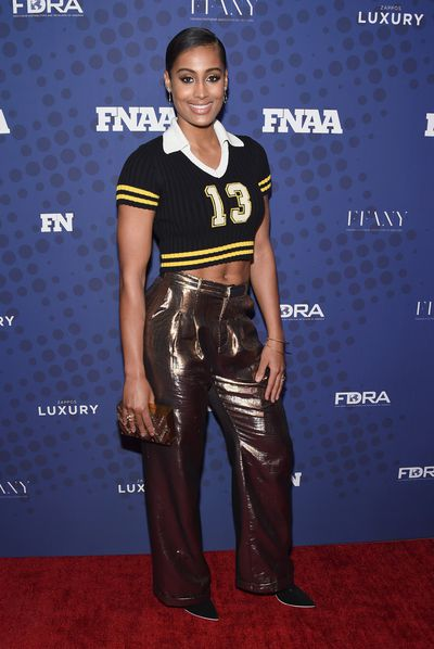 Skylar Diggins-Smith in Fenty x Puma at the FN Achievement Awards in New York.
