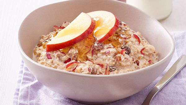 Kanzi apple bircher muesli