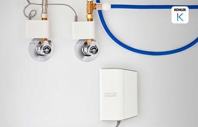 A home water monitor that tells you when you spring a leak