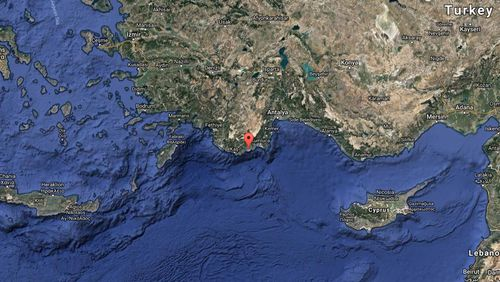 Demre, Turkey. (Google Maps)