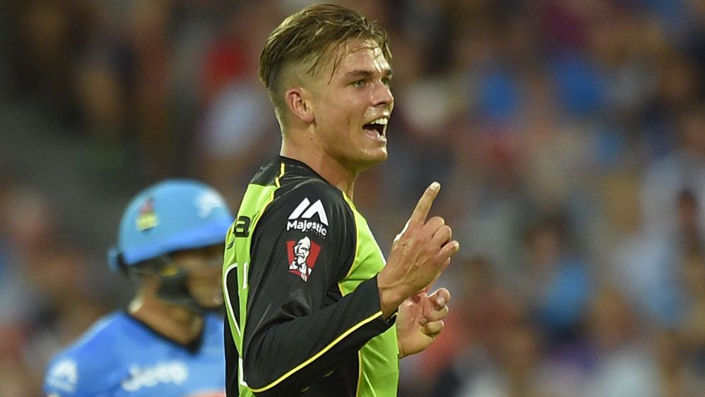 Sydney Thunder's Chris Green has been recruited by Lahore Qalandars for the Pakistan Super League. (AAP)