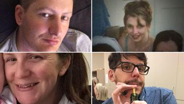 The four victims of the Dreamworld tragedy: Luke Dorsett, Cindy Low, Kate Goodchild and Roozi Araghi. (Supplied)