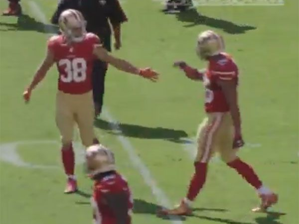 Pumped up Hayne shows off his US lingo