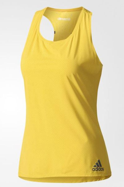 """<p><a href=""""https://www.adidas.com.au/climachill-striped-tank-top/CE8121.html"""" target=""""_blank"""" draggable=""""false"""">Adidas Women Training Climachill Striped Tank Top, $42</a></p>"""