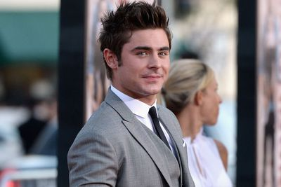 Unfortunately for us, Zefron's not having wild frat parties on our street.