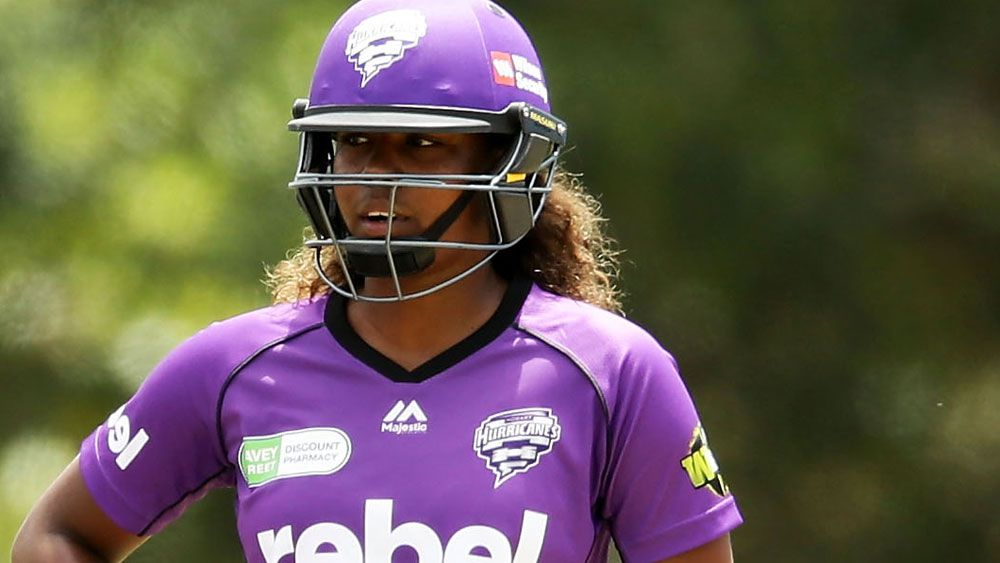 Hayley Matthews starred for the Hobart Hurricanes in their WBBL win. (Getty Images)