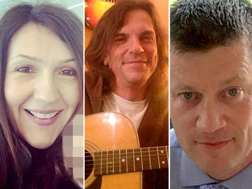 Aysha Frade, Kurt Cochran and PC Keith Palmer were killed in the terror attack.