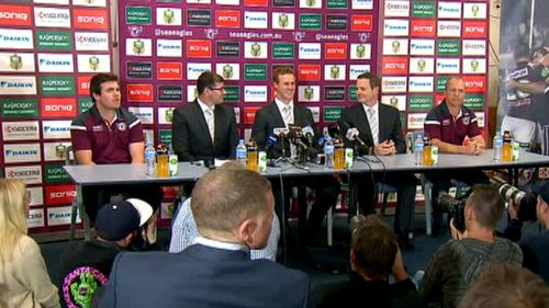 The announcement was made at a press conference today. (9NEWS)