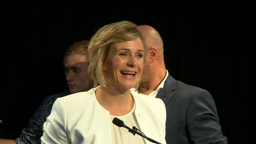 """This is a win for moderates with a heart"": Zali Steggall."