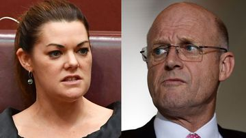Sarah Hanson-Young crowd-funds legal action against David Leyonhjelm