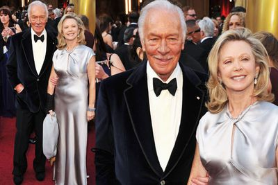 Once again...the oldies outdo the youngens! Christoper Plummer (i.e. Captain Georg Ludwig von Trapp from <i>The Sound of Music</i>) rocks the red carpet in a velvet suit! Yew!