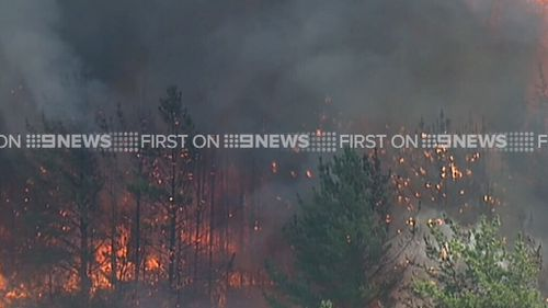 Residents are advised to seek shelter indoors. (9NEWS)