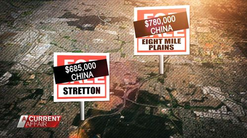 Properties have been illegally purchased by Chinese, UK and Canadian buyers, among others.