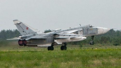 Russia reportedly used SU-24 bombers to conduct the airstrikes.
