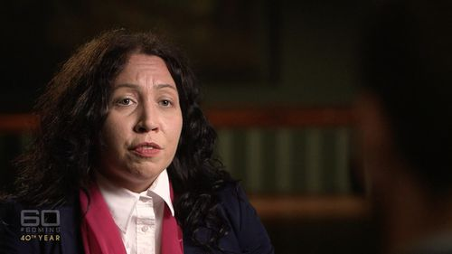 Australian human rights activist Radha Stirling had been helping the princess. Picture: 60 Minutes
