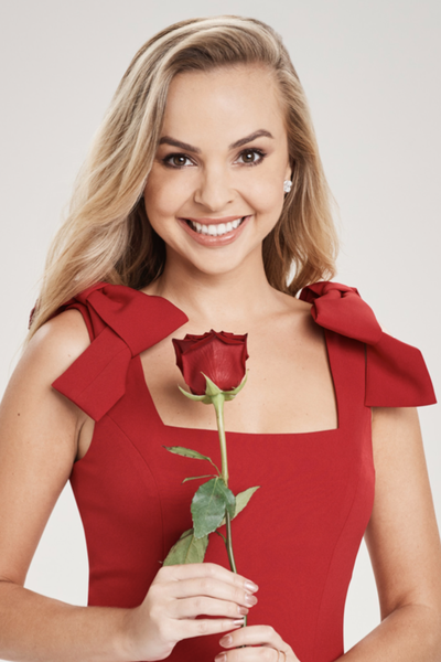 The Bachelorette's Angie Kent