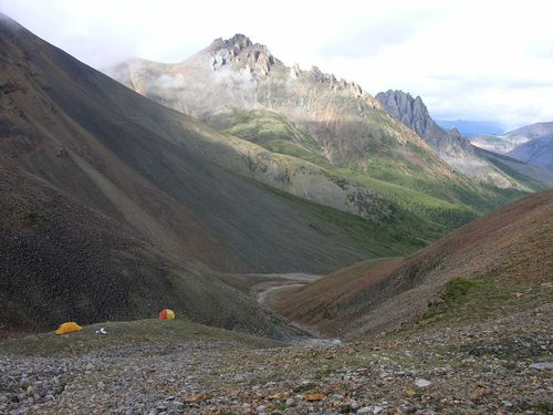 Around a billion years ago, this region of northwest Canada, now defined by steep mountains, was a prehistoric marine environment.