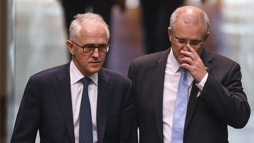 Malcolm Turnbull has thrown his support behind Scott Morrison.