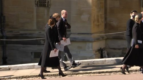 Înmormântarea prințului Philip