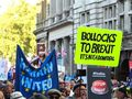 Theresa May 'drinking in last chance saloon' as anti-Brexit protesters hit streets