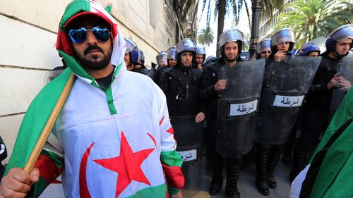 Algeria's president: From freedom fighter to public enemy number one