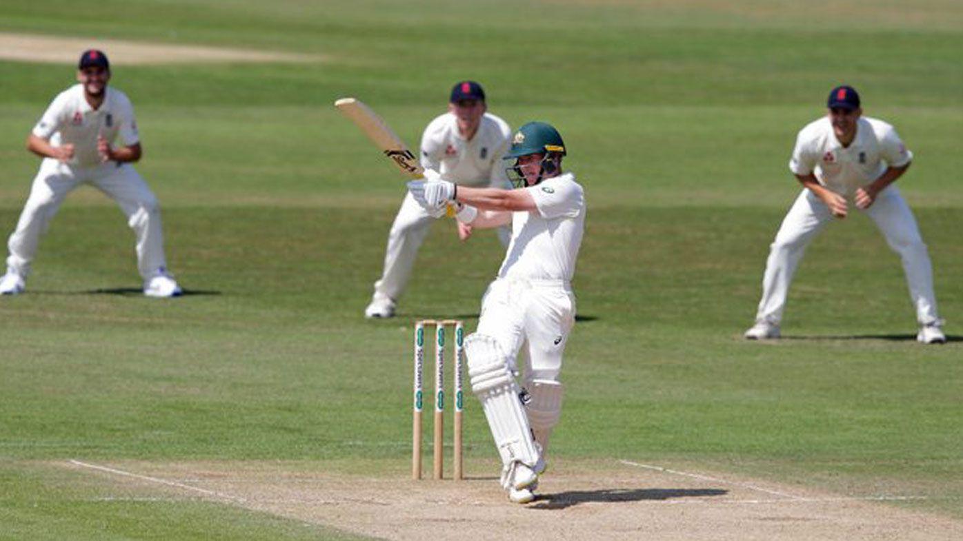 Australia XI lead England Lions as Marcus Harris stars with the bat