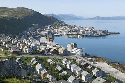 Hammerfest in Norway, 2004
