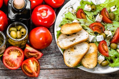 Start the Mediterranean diet