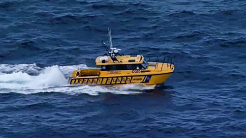 Multiple search crews have been deployed off the coast of Brisbane following reports of a missing diver.
