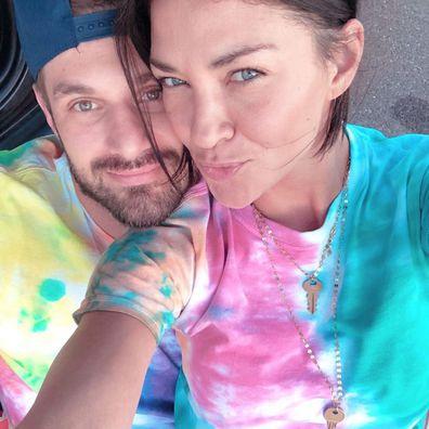 Gossip Girl, Jessica Szohr, pregnant, Instagram announcement, boyfriend Brad Richardson
