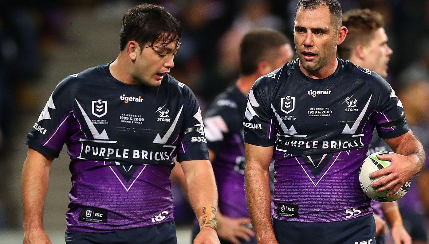 Brisbane Broncos targeting Melbourne duo Cameron Smith and Brandon Smith