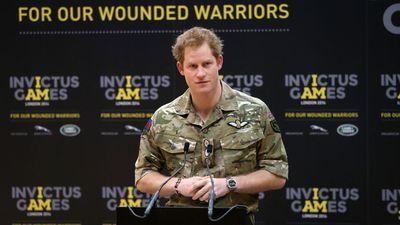 Prince Harry, 2014