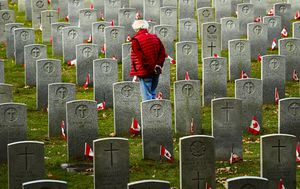 IN PICTURES: Remembrance Day 2020 ceremonies around the world