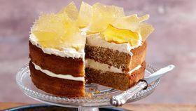 Coffee cream cake
