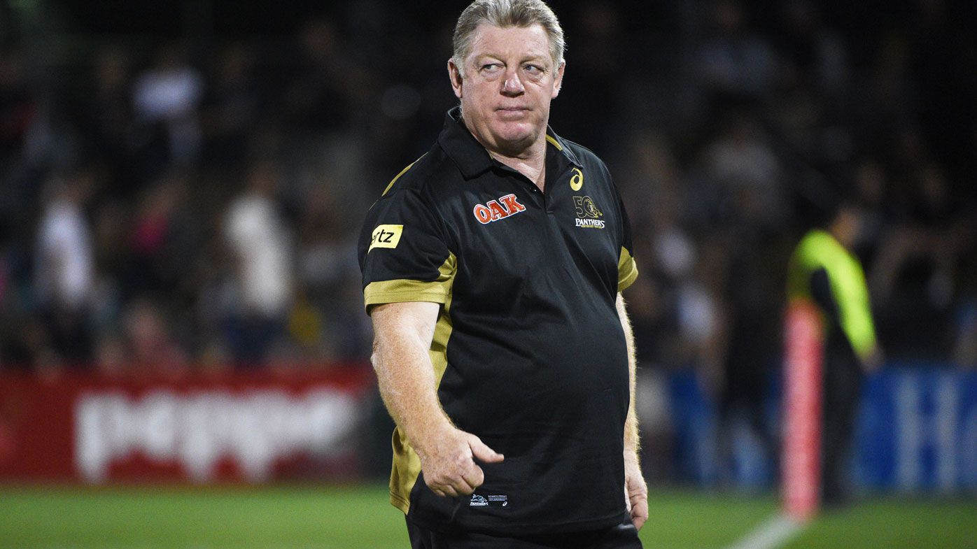 Panthers general manager Phil Gould.