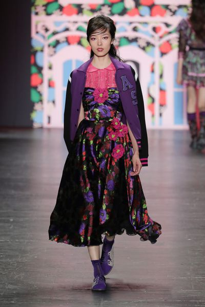 Anna Sui, spring/summer '17