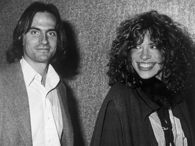 James Taylor and Carly Simon in 1978