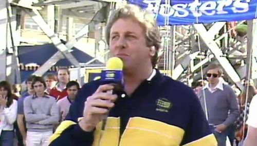 Darrell Eastlake joined Channel Nine in 1982. (9NEWS)