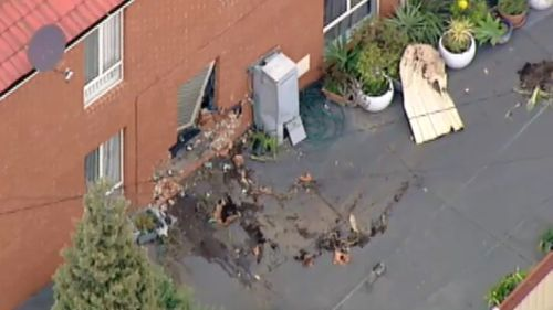No residents were injured. (9NEWS)