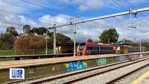 An 11-year-old has faced court today after allegedly assaulting a 49-year-old man at the Mile End Railway Station on Monday evening.