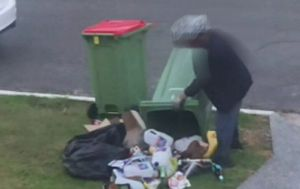 Shattered sleep for Gold Coast locals as bin divers rummage for cans