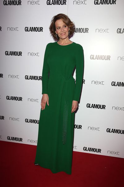 Glamour's Women of the Year Awards got under way in London with a host of celebrities hitting the red carpet in Berkeley Square. While there was no shortage of high octane gowns, the night really belonged to Sigourney Weaver, who took home the Icon of the Year Award in an elegant green dress worthy of the trophy. Click through to see who else was there.