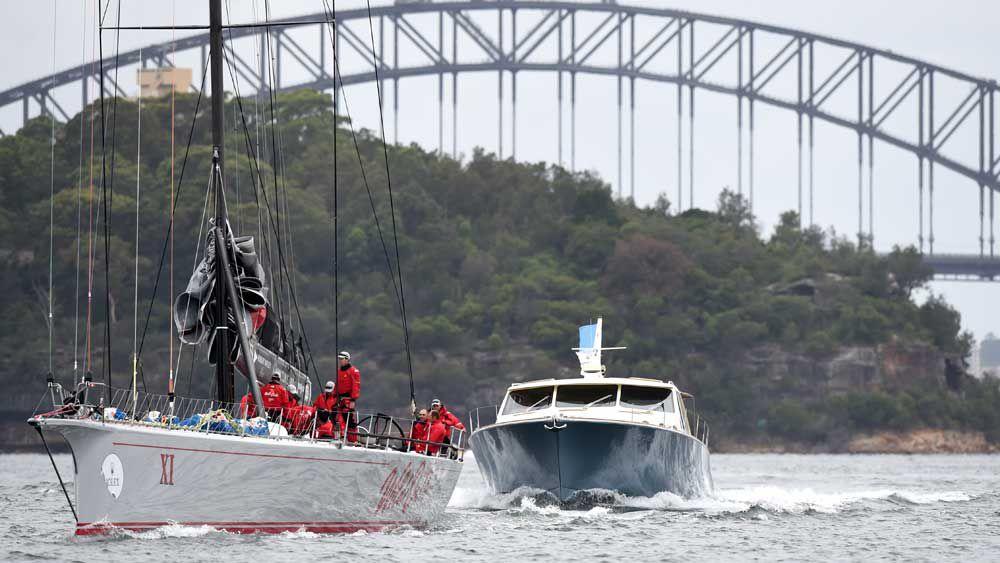 Melbourne-Hobart yachts face rough seas