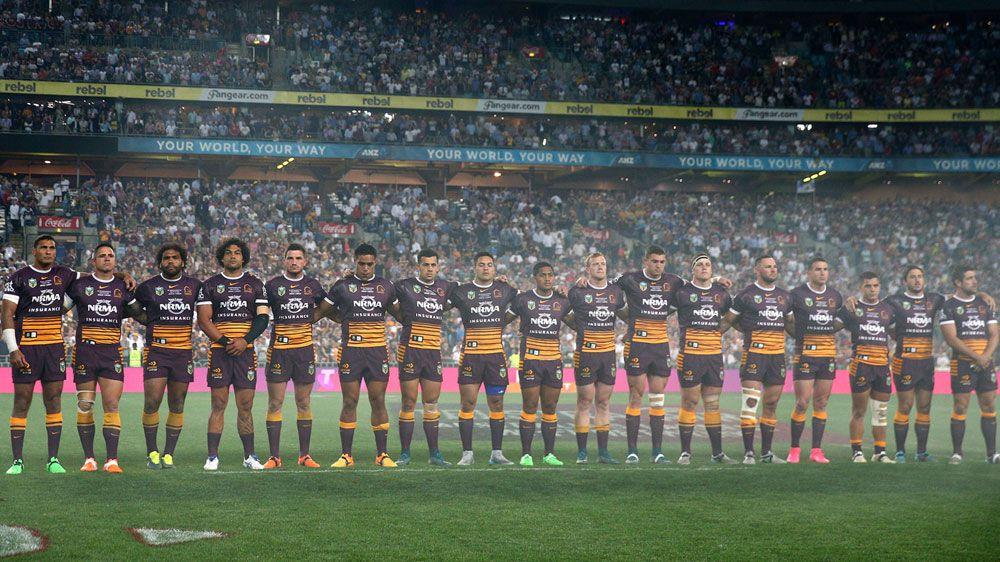 The Brisbane Broncos. (AAP)