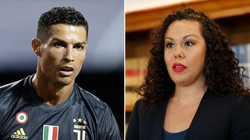 Football star Cristiano Ronaldo has denied any wrongdoing after being accused by a woman of raping her in Las Vegas in 2009.