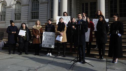 Alleged victims of Robert Hadden demand the resignation of Manhattan District Attorney Cy Vance.