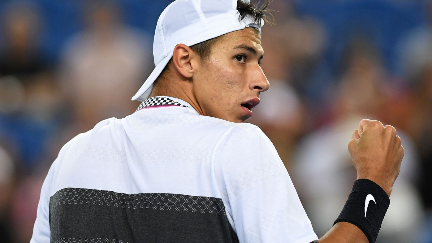 Australian Open: All Aussie men out as Alexei Popyrin falls to Lucas Pouille